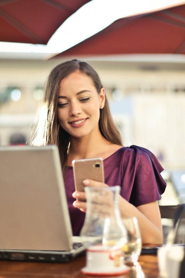 Aanpassing van mobiele videoconferentie-app